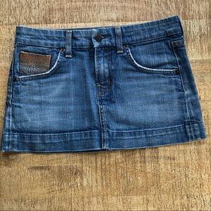 Citizens of Humanity Denim Skirt Size 24